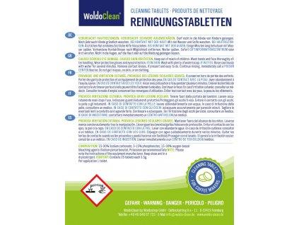 Dvoufazove cistici tablety pro automaticky kavovar 3,5g Jura Delonghi Bosch Siemens Saeco