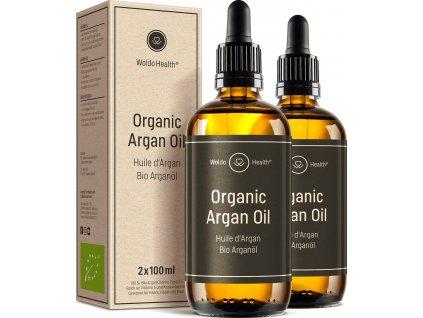BIO arganový olej (2x100ml)