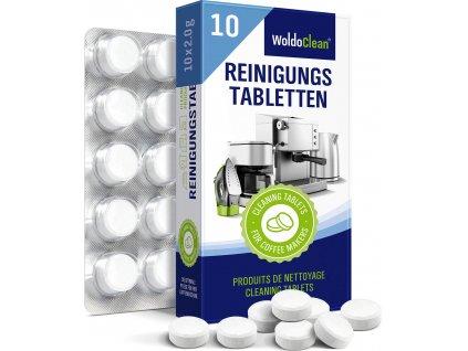 Čistící tablety do kávovaru 10ks