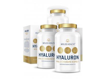 hyaluronová kyselina (3x90 kapslí)