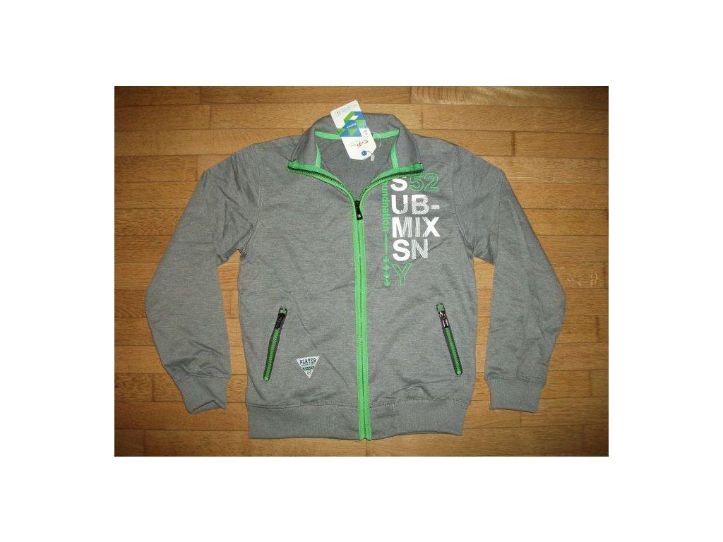 3dd43ba0fe Mikina chlapecká(šedý melír) KU GO - Laciná Koupě - WOLF dětské oblečení