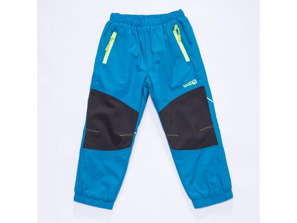 20cd866a615 Kalhoty šusťákové dětské zateplené flísem (3 barvy) WOLF - Laciná ...