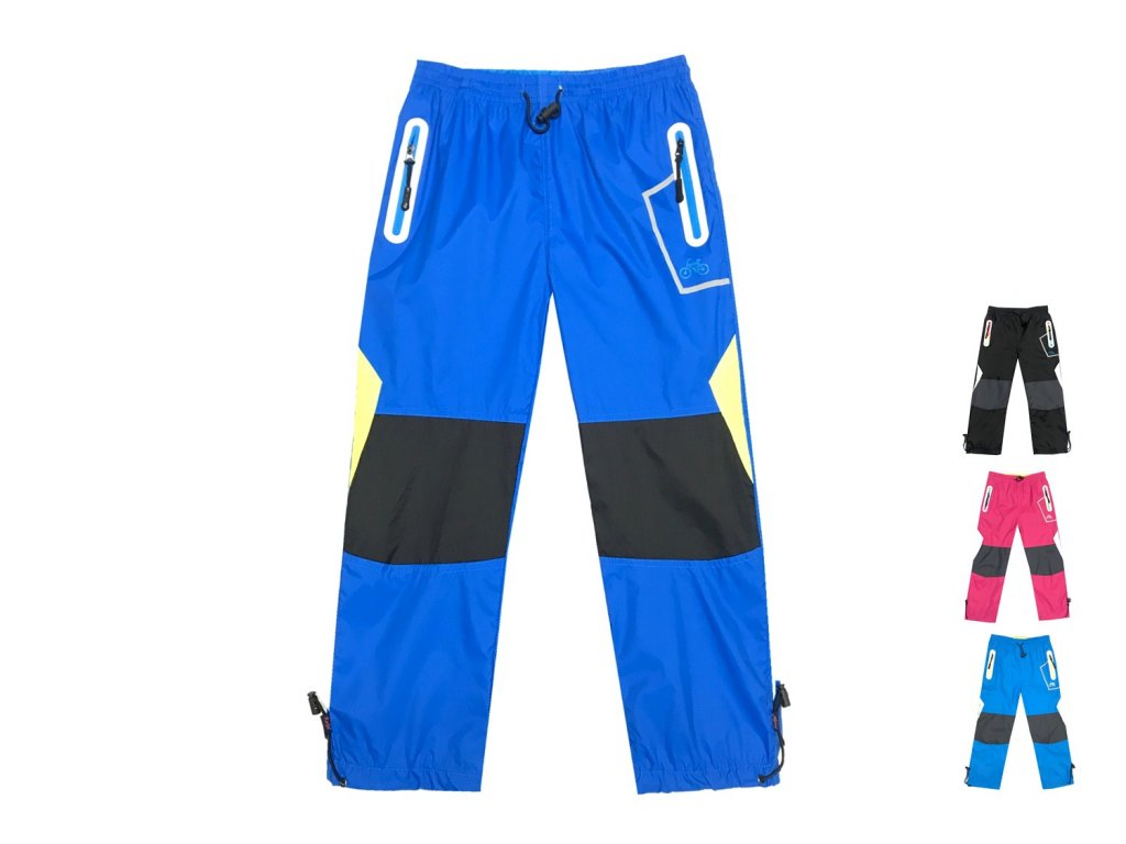 7b1f67f978a Kalhoty dětské šusťákové s bavlněnou podšívkou (4 barvy) KUGO