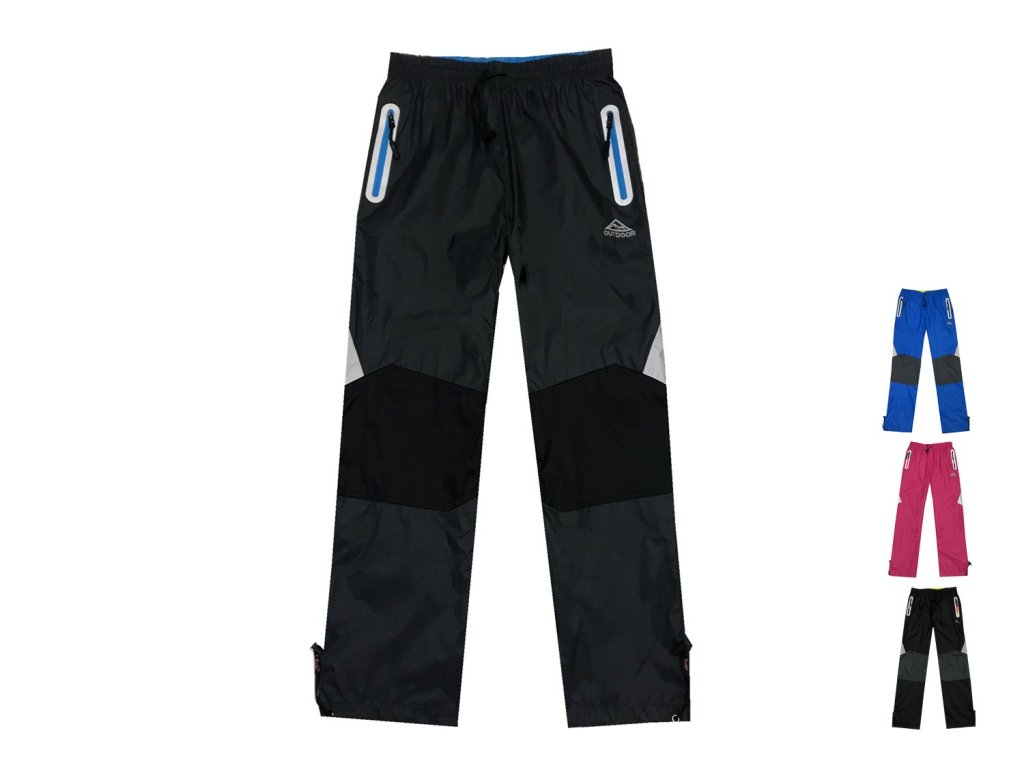 Kalhoty dětské šusťákové s bavlněnou podšívkou (4 barvy) KUGO ... c8ef4c62ca