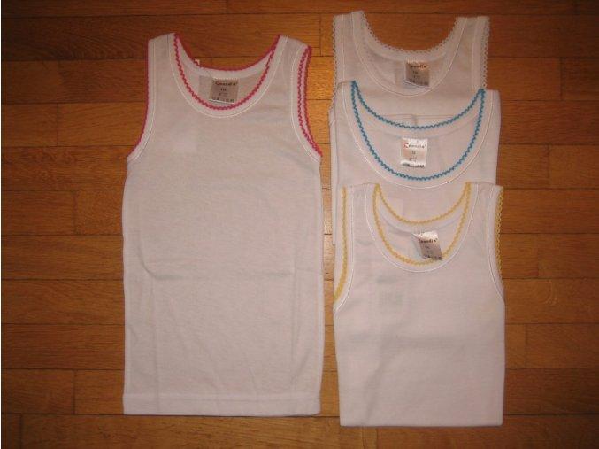 Košilka dívčí (bílá) COANDIN