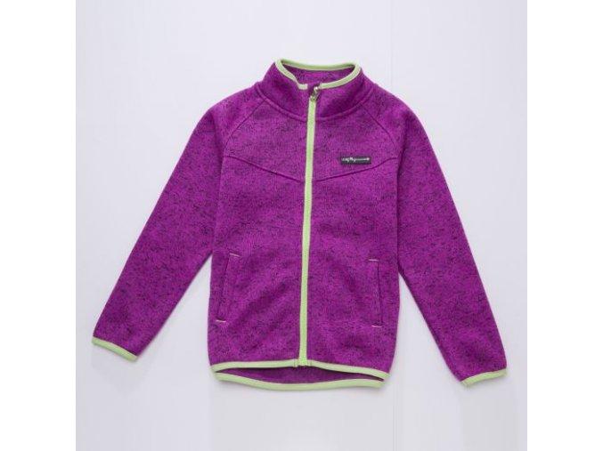 Mikina dívčí teplá svetrová (3 barvy) WOLF