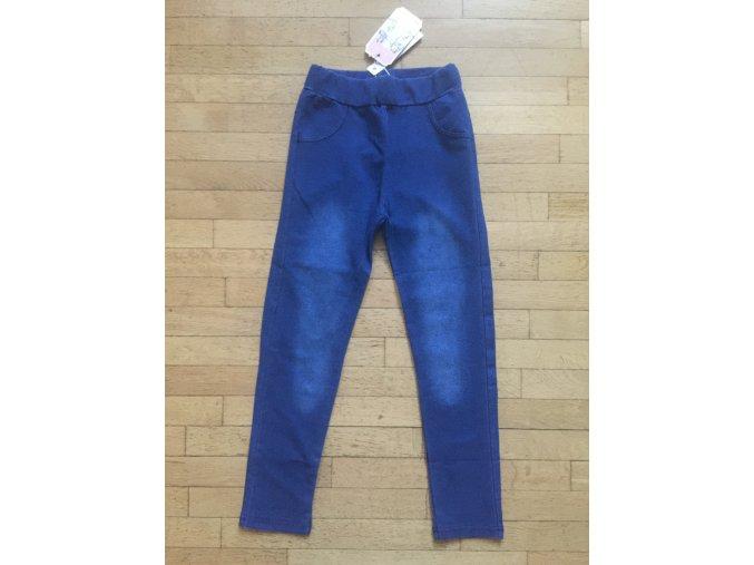 Legíny dívčí riflové (modré) KUGO, VEL.134-164