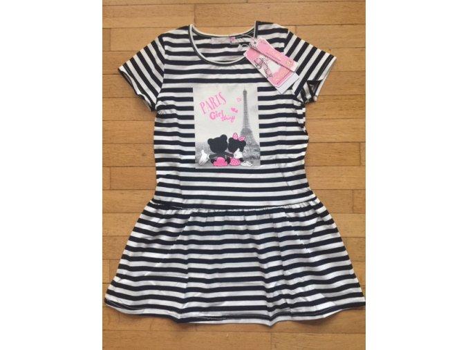Šaty dívčí (2 barvy) KUGO, VELIKOST (4-12)