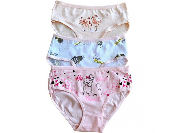 Kalhotky dívčí (3 barvy) AURA VIA, VELIKOST (128-146)
