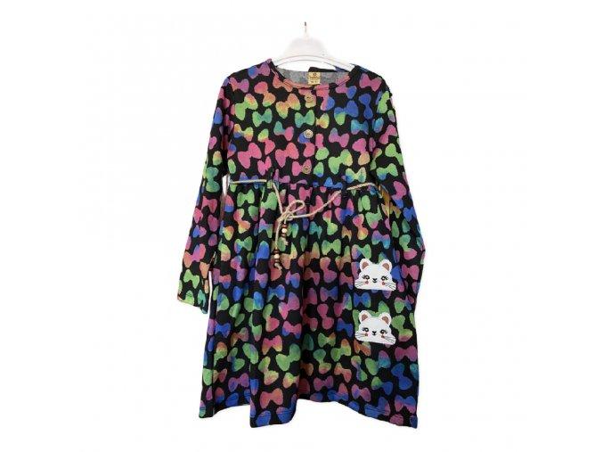 Šaty dívčí  (2 barvy) SELFIE KIDS, VELIKOST 6-7 --10-11)