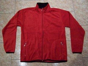 Mikina pánská fleecová (červená) BLOSSOM