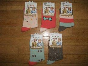 Ponožky dívčí (5 barev) AURA.VIA