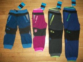 Kalhoty dětské kostkované (4 barvy) KUGO