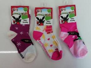 Ponožky dívčí KRÁLÍČEK BING (3 barvy) SETINO,VELIKOST 23-34