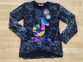 Tričko dívčí dlouhý rukáv TIK TOK (3 barvy) TOMURCUK, VELIKOST 128-164