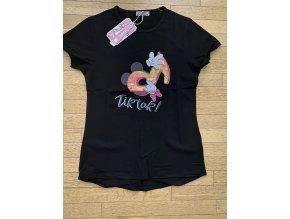 Tričko dívčí krátký rukáv TIK TOK (3 barvy) KUGO,VELIKOST 134-164