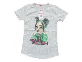 Tričko dívčí delší (5 barev) EYMEN,VELIKOST 140-176