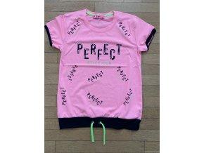 Tričko dívčí krátký rukáv (3 barvy) TOMURCUK,VELIKOST 128-176