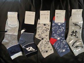 Ponožky chlapecké (5 barev) AURA VIA, VELIKOST 28-35