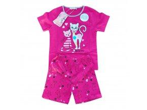 Pyžamo dívčí letní (3 barvy) KUGO,VELIKOST98-128
