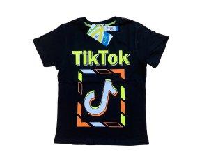 Tričko chlapecké krátký rukáv TIK TOK (3 barvy) KUGO , VELIKOST 146-176