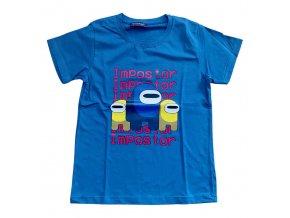 Tričko chlapecké krátký rukáv (2 barvy) TOMURCUK,VELIKOST 140-176