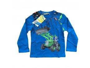 Tričko chlapecké dlouhý rukáv (3 barvy) KUGO, VELIKOST 98-128