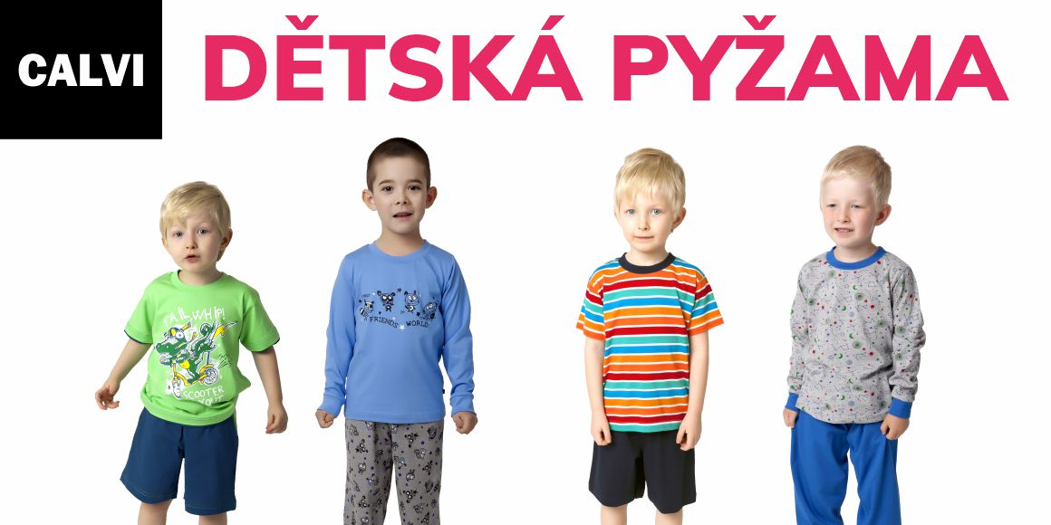 calvi detska pyzama