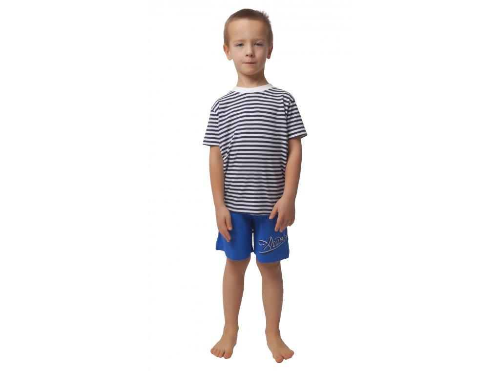 Dětské kraťasy CALVI 20-050 - modré