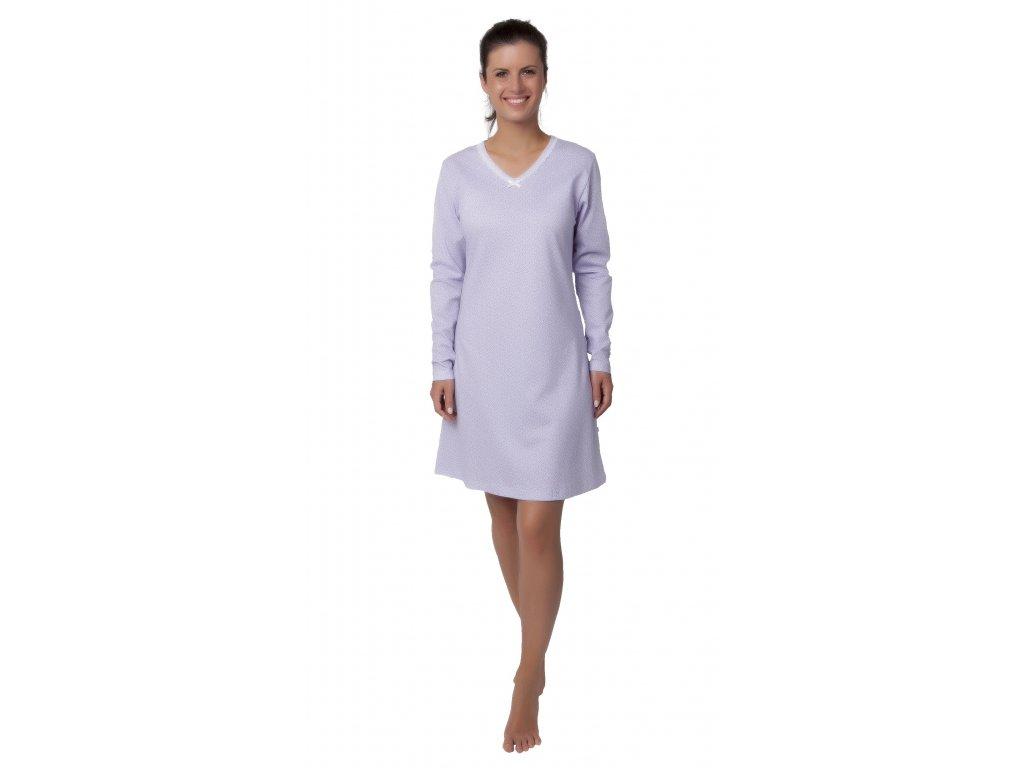 Dámská noční košile CALVI 18-354 - fialková