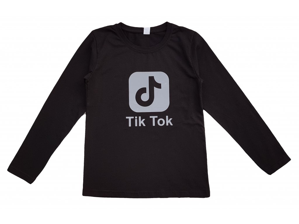 Chlapecké triko TUZZY 1055 - černé