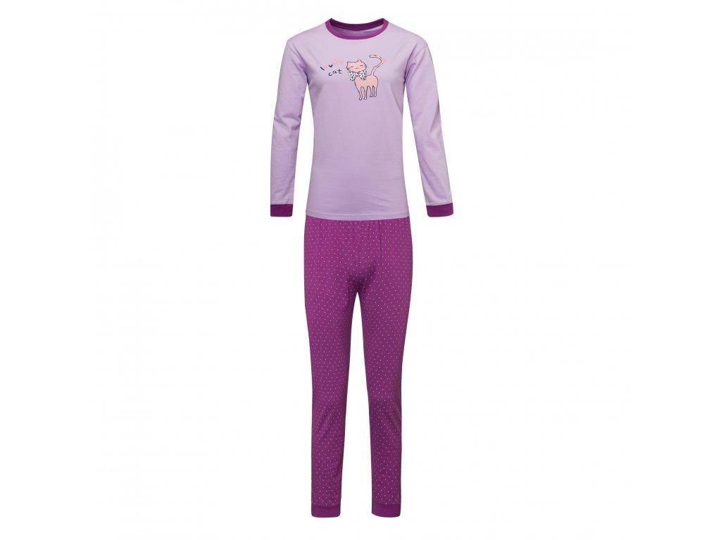 Dívčí pyžamo WOLF S2853C - sv. fialové (Velikost 164)