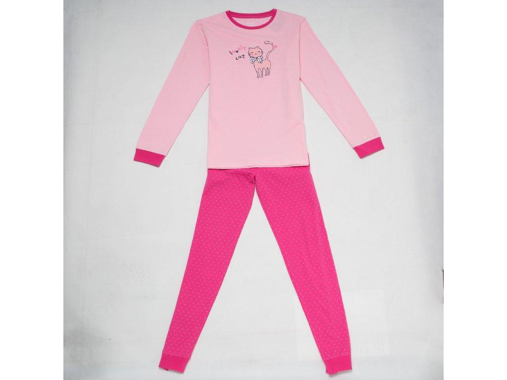 Dívčí pyžamo WOLF S2853C - růžové (Velikost 164)