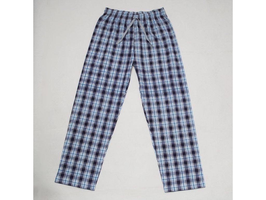 Pyžamové kalhoty WOLF S2878 - sv. modrá kostka (Velikost XXL)