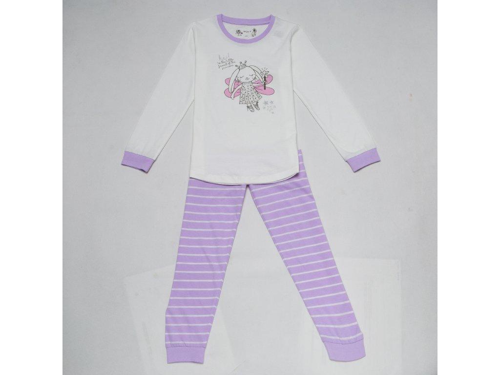 Dívčí pyžamo WOLF S2852B - bílé (Velikost 128)