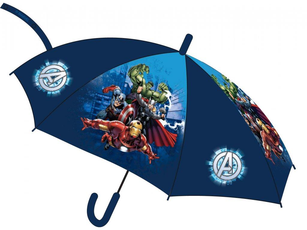 Dětský deštník AVENGERS 5250321 - modrý
