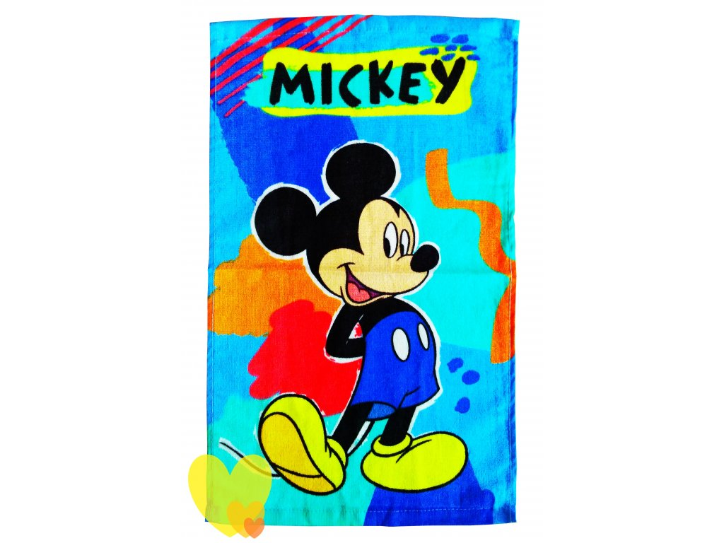 Dětský ručník MICKEY 445798 - barevný mix