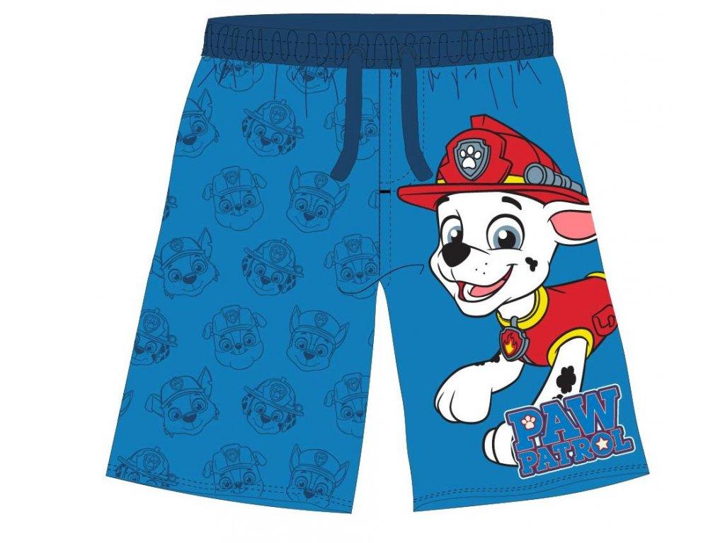 Chlapecké šortky TLAPKOVÁ PATROLA 5244984 - modré