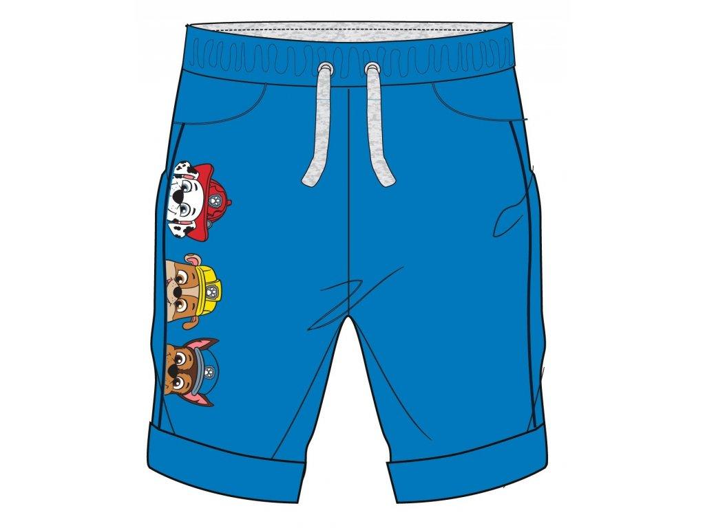 Chlapecké šortky TLAPKOVÁ PATROLA 52071393 - modré