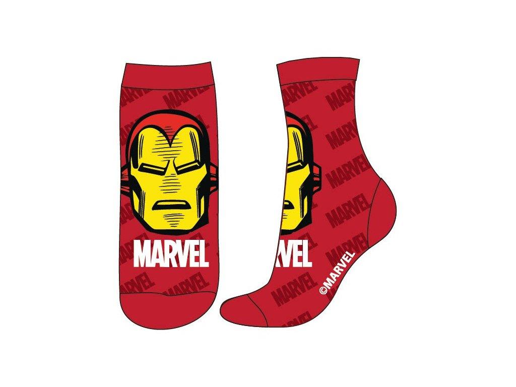 Dětské ponožky AVENGERS 5234308 - červené, Ironman