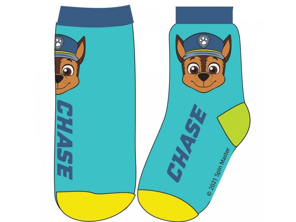 Dětské ponožky TLAPKOVÁ PATROLA 52341359 - tyrkys