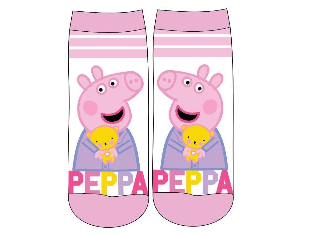 Dětské ponožky PEPPA PIG 5234745 - růžová/bílá