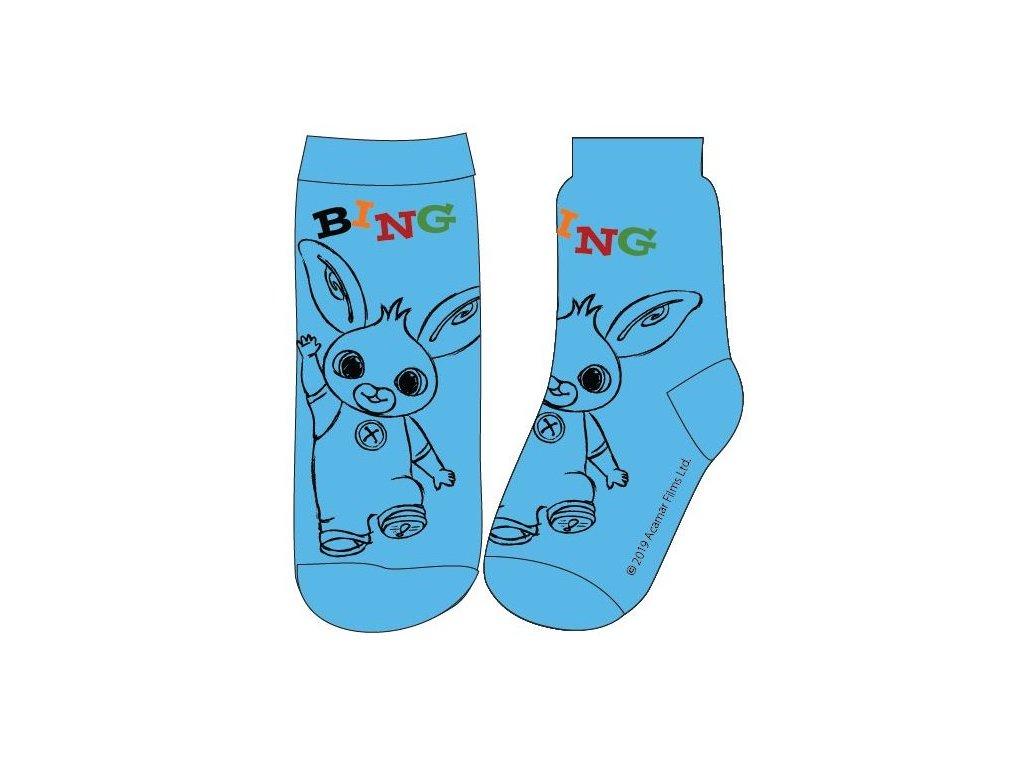 Dětské ponožky ZAJÍČEK BING 5234003 - modré