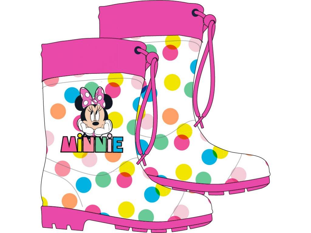 Dívčí holínky MINNIE 52558982 - bublinky