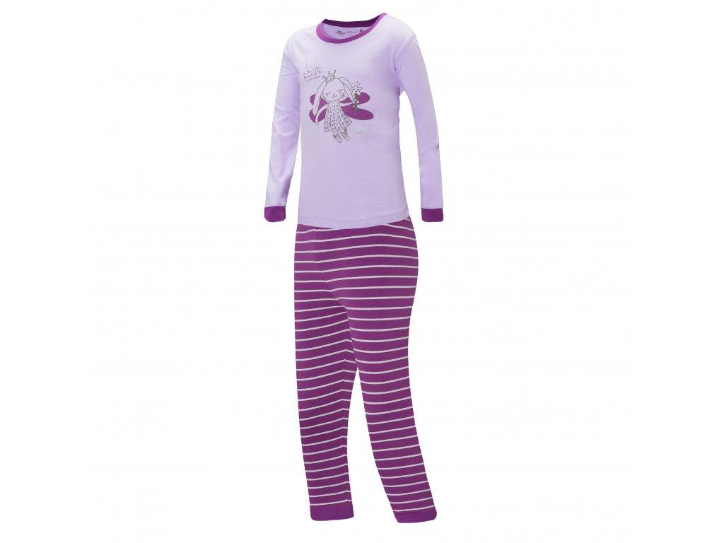 Dívčí pyžamo WOLF S2852B - fialové (Velikost 128)