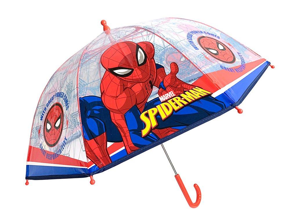 Dětský deštník SPIDERMAN 9497 - modrá/červená
