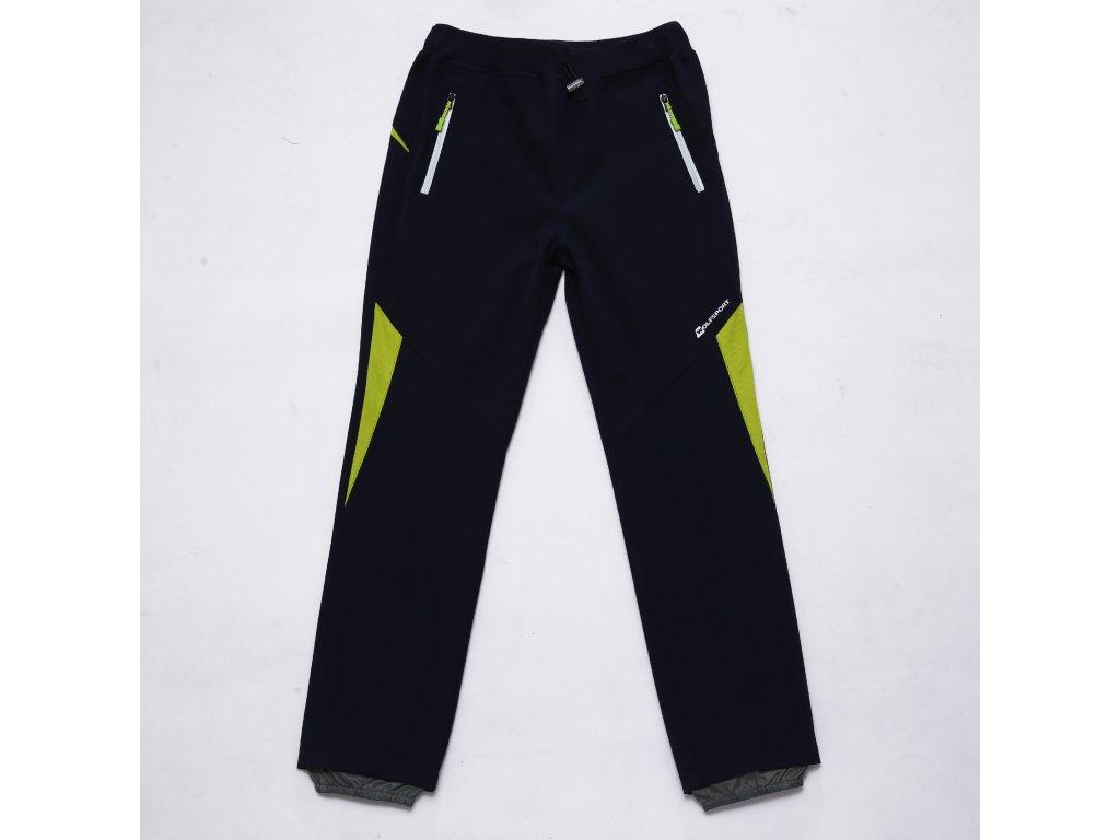 Chlapecké softshellové kalhoty WOLF B2984 - tm. modré (Velikost 146)