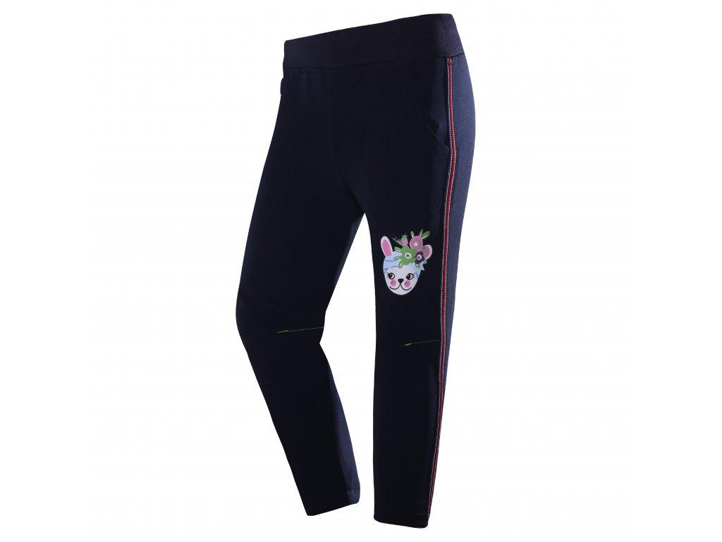Dívčí softshellové kalhoty WOLF B2981 - tm. modré (Velikost 110)