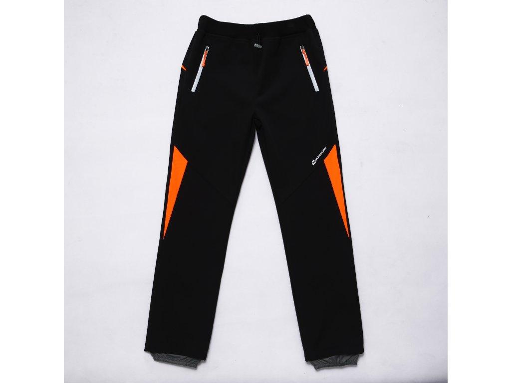 Chlapecké softshellové kalhoty WOLF B2984 - černé (Velikost 146)