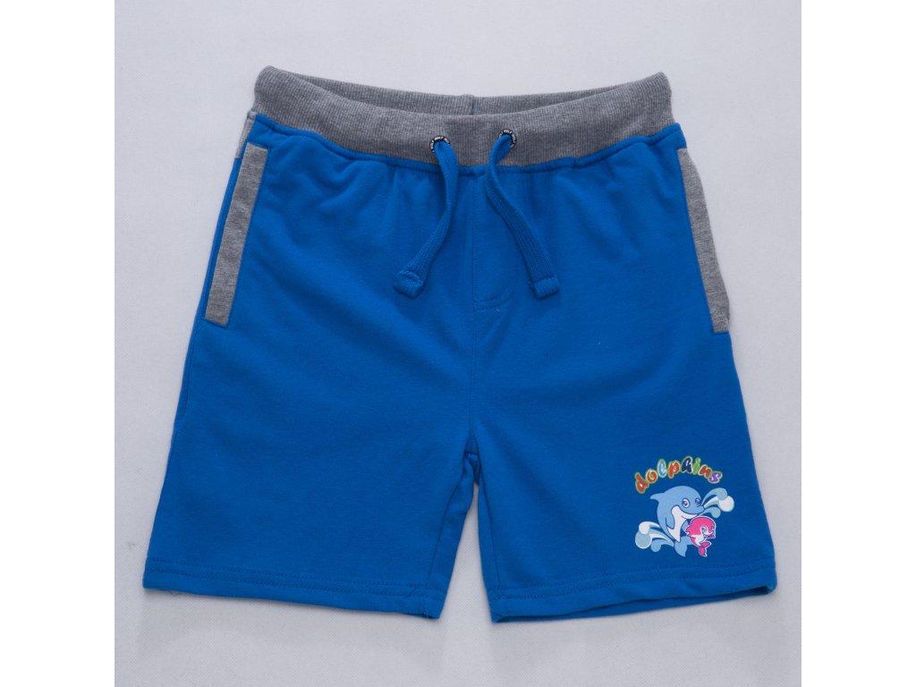 Dětské chlapecké kraťasy WOLF T2731 - modré (Velikost 098)